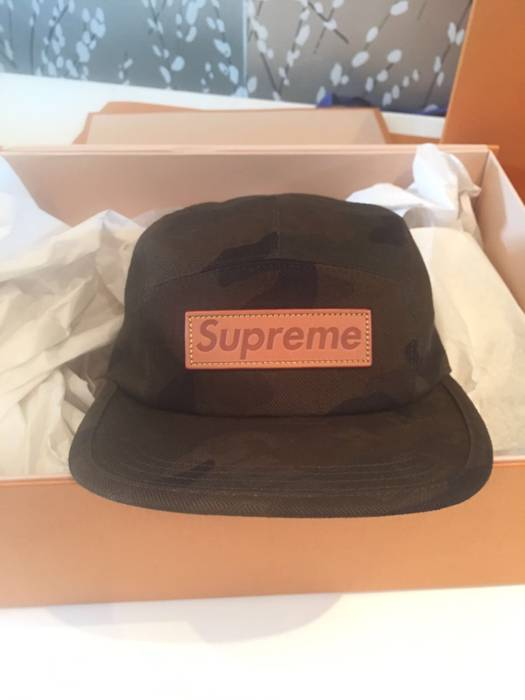 Supreme Supreme x Louis Vuitton Camp Cap Size one size - Hats for ... 782778bbcc72