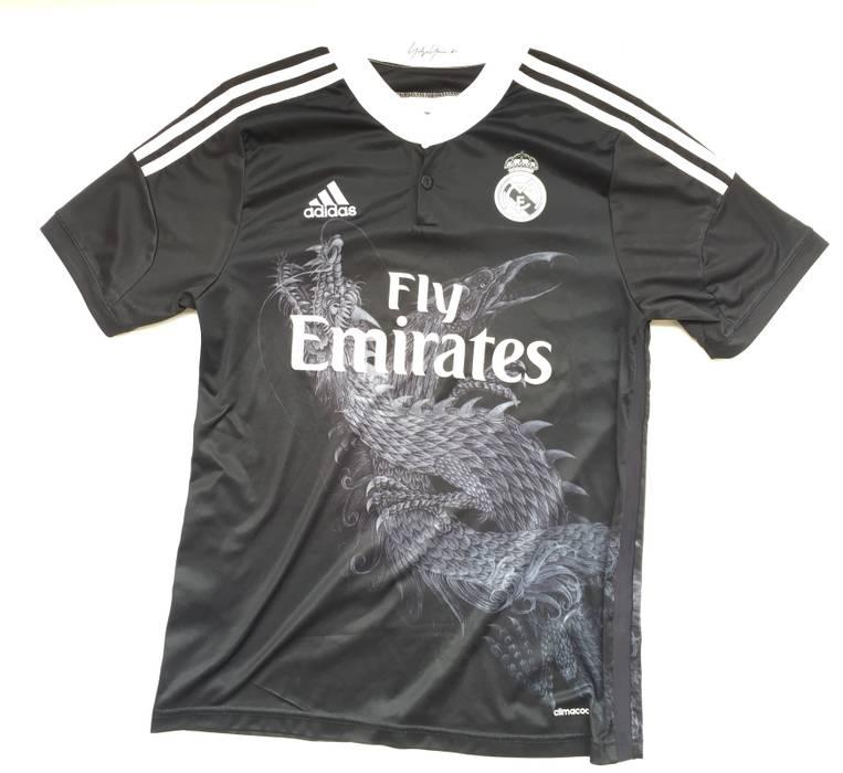c5c70c826475 Adidas Yohji Yamamoto X Adidas For Real Madrid Size s - Short Sleeve ...