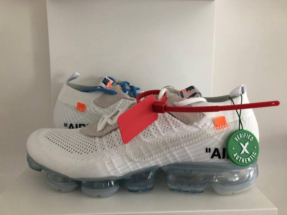 f50d492bf5dd7 Nike Nike x Off White Vapor Max White StockX Verified Size US 10.5   EU 43