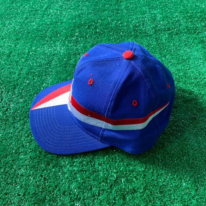 Vintage VTG Rare 90s New York Giants Helmet Snapback Hat American Needle  Nutmeg Mills Size ONE 4580a8254ad
