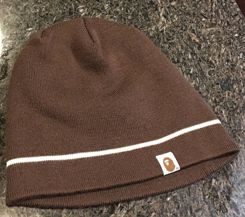 Bape Bape Beanie Hat Toboggan Size one size - Hats for Sale - Grailed c0e5b1bd498
