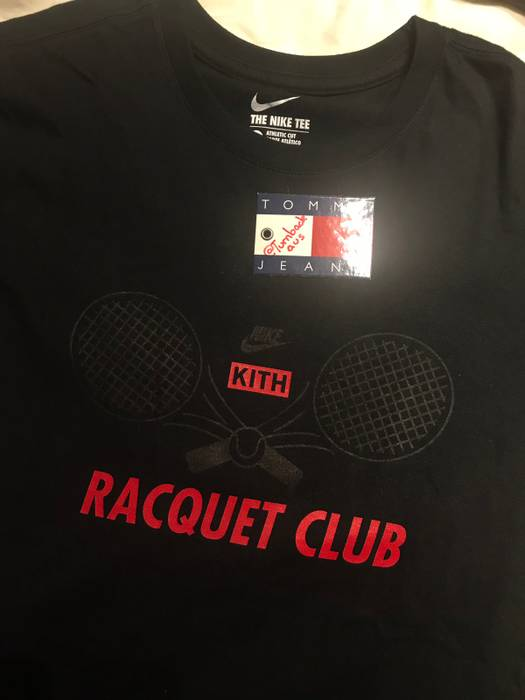 6d11643091e1 Nike Nike x Kith NYC Tennis Racquet Club Tee RARE Size m - Short ...