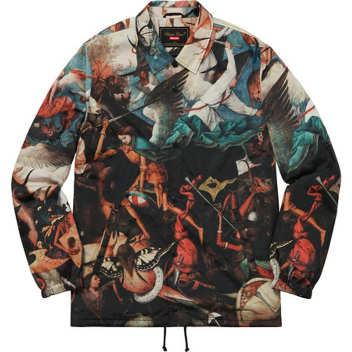 Supreme All Over Print Coaches Jacket Size Us Xl Eu 56 4