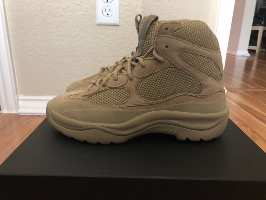 584dd925c0d5c Yeezy Season Desert Boot Taupe (Tan) Size 9 - Boots for Sale - Grailed