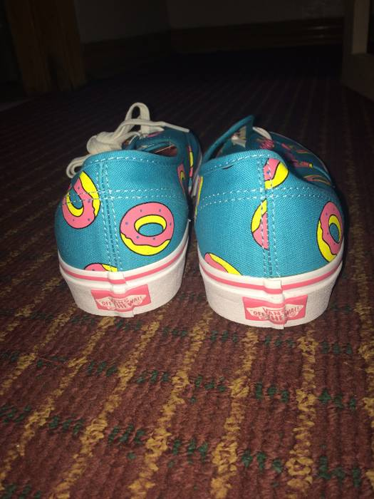 fa57f42651eb94 Vans Vans Odd Future Scuba Blue Donut Shoes Size US 8   EU 41 - 2