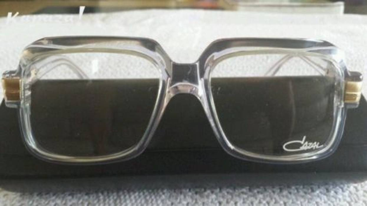 f43ef6f2afb Cazal 607 Clear   Transparent   Translucent Frames Size one size ...
