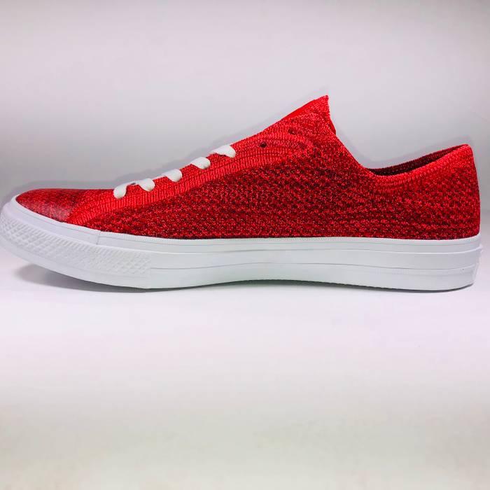 4cd581f7921 Nike Converse CTAs Nike Flyknit Ox Casino Red Sneakers Size US 11   EU 44 -