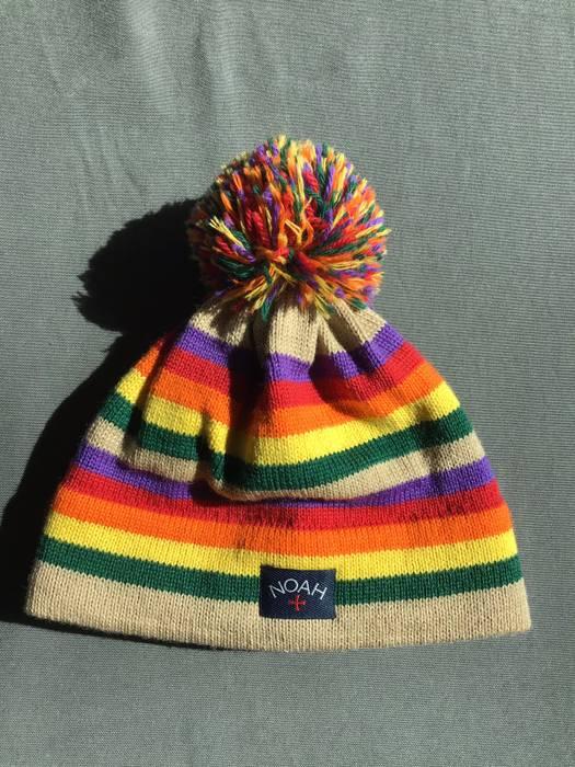 Noah Rainbow Knit Beanie Size one size - Hats for Sale - Grailed 3b713a3b3b7