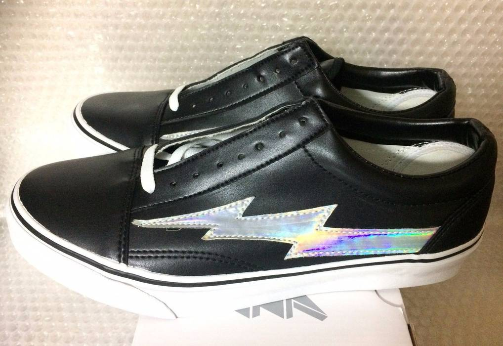 Ian Connor Revenge x Storm Ian Connor Japan Exclusive Black Holographic Vans  Shoes Size 10 Size 9322f2a83