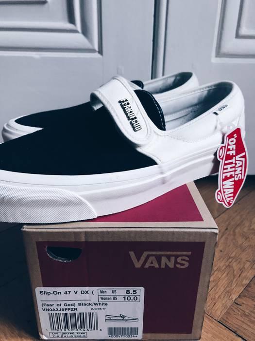 956cd9f3c40 Fear of God Fear Of God X Vans ( Slip On ) Size 8.5 - Low-Top ...