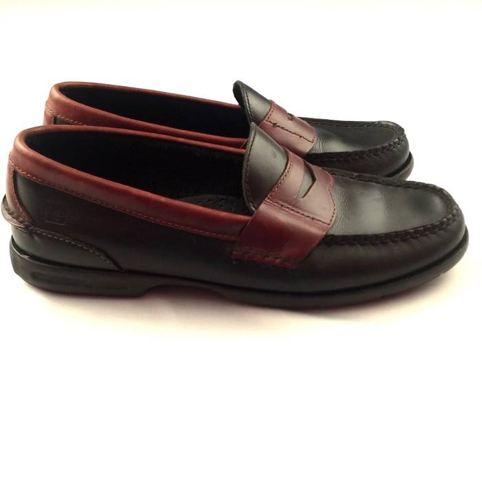 151824b8aa55a Sperry Sperry Top-Sider Black Brown Loafers No Lace Mens Size 8 M ...