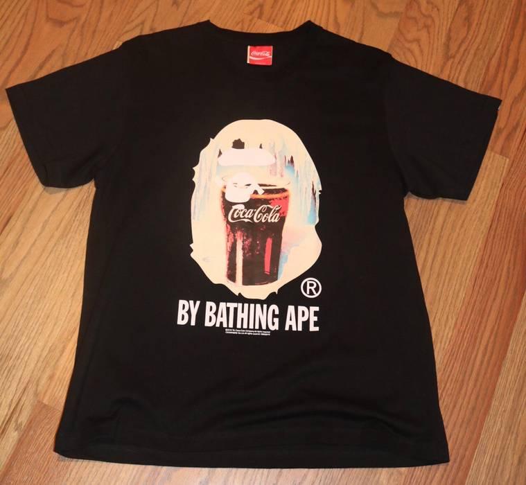 a0e8c51934b6 Bape Bape Coca Cola T-Shirt Size l - Short Sleeve T-Shirts for Sale ...
