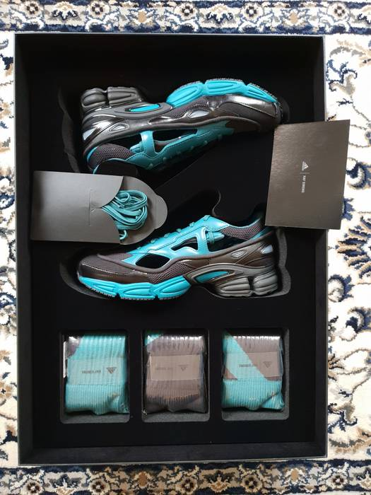5e1652add23461 Raf Simons Replicant Ozweego Limited w  box Black Blue Size 10.5 ...