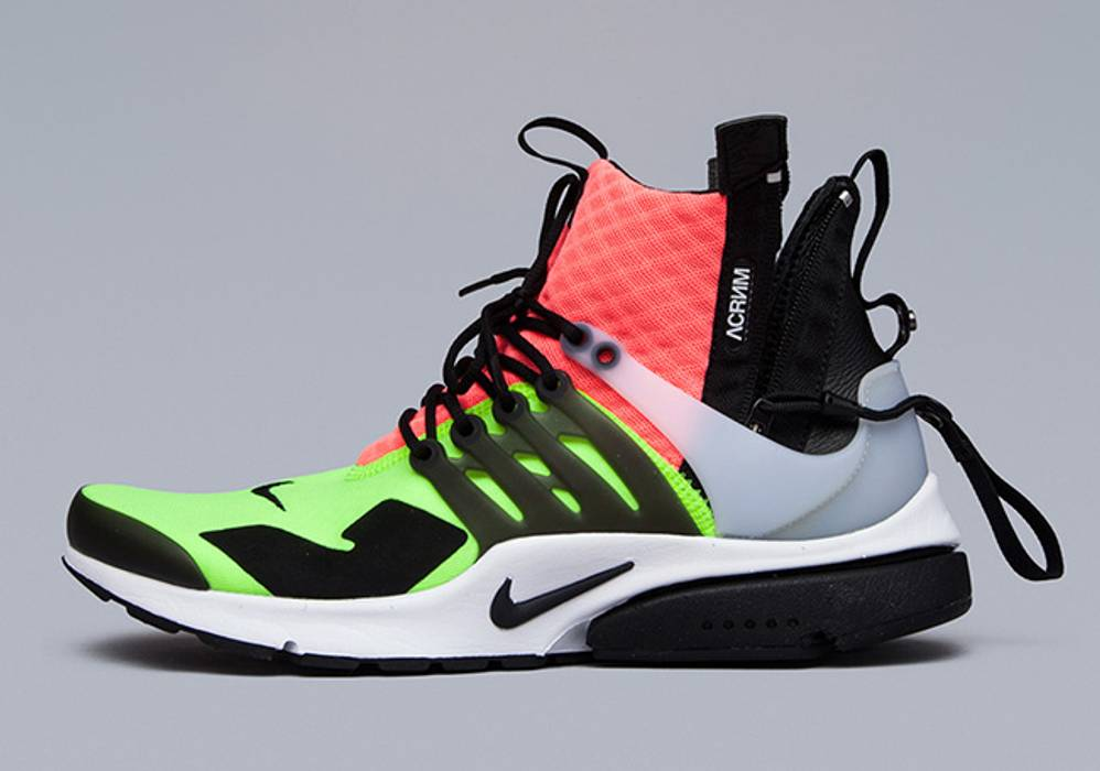 3358c89085c0 Nike ACRONYM x NIKE AIR PRESTO MID LARGE HOT LAVA VOLT DEADSTOCK with BOX  Size US