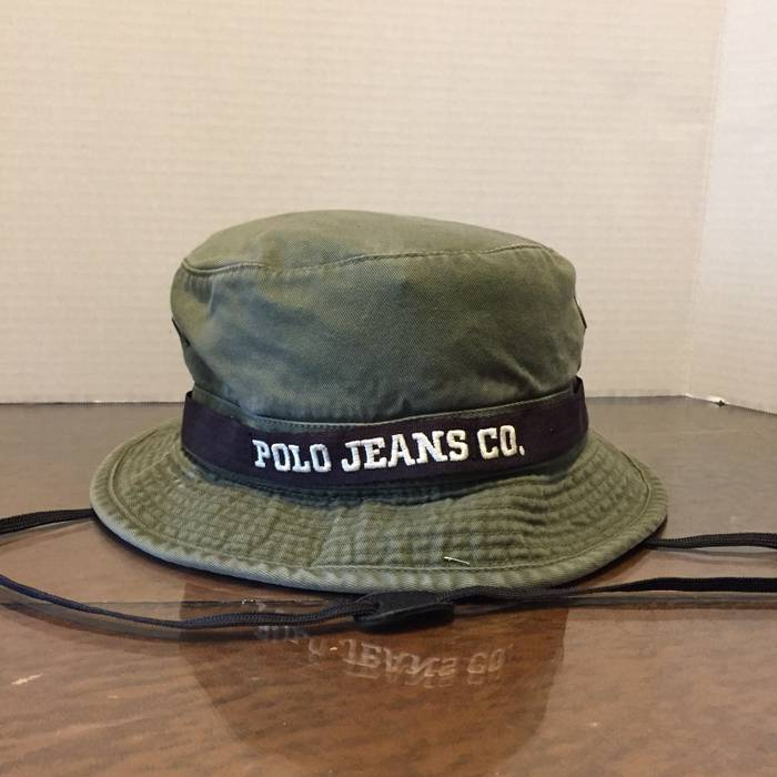 cd6a1dd5610 Polo Ralph Lauren ❗️LAST DROP❗️Vintage Polo Jeans Co. RL Bucket ...