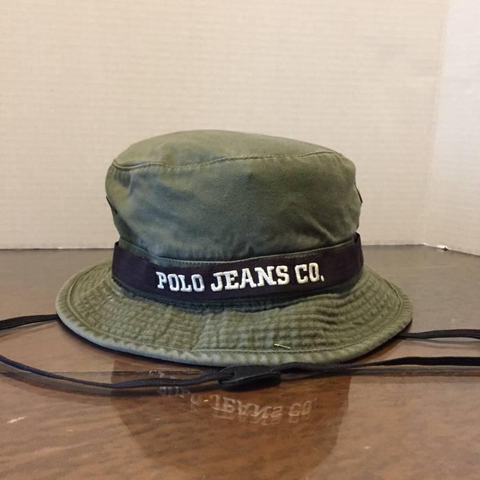 Polo Ralph Lauren ❗️LAST DROP❗️Vintage Polo Jeans Co. RL Bucket ... afe4a2babf6