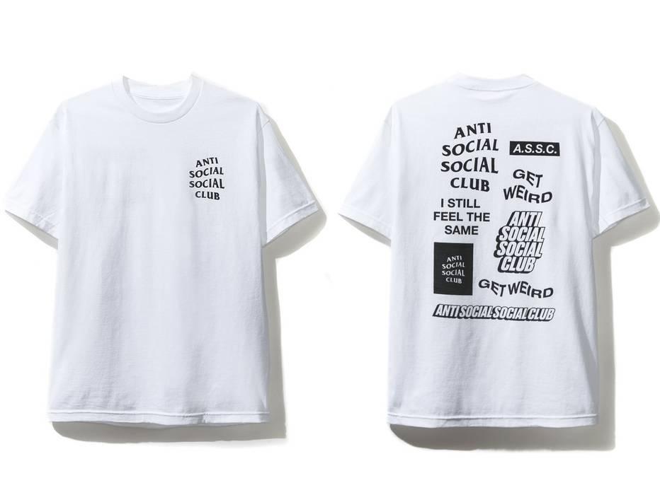 66d33cf1 Heren: kleding DS Anti Social Social Club ASSC White logo Bukake Black Tee  Shirt Supreme Bape
