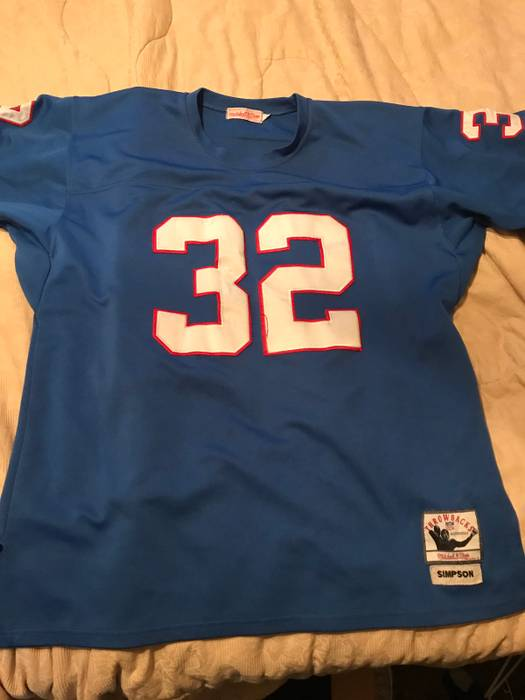 save off b702e 9c860 coupon code for oj simpson buffalo bills throwback jersey ...