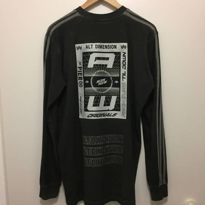 Adidas Adidas x Alexander Wang Alt Dimension Rave Bleach Long Sleeve Size  US M   EU 53f905c02
