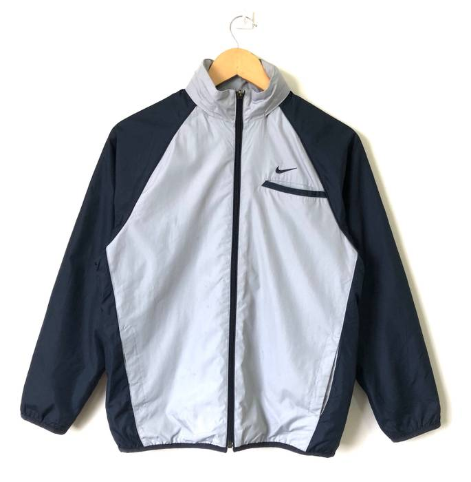 0fd060631f Nike Vintage Nike Swoosh Jacket Zipper Small Logo Size US M   EU 48-50
