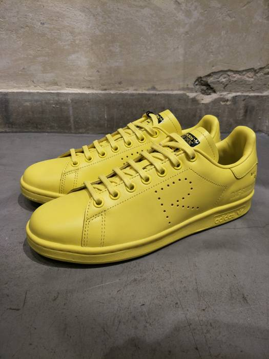 promo code afb43 0ae22 Adidas ADIDAS X RAF SIMONS STAN SMITH YELLOW Size US 10   EU 43