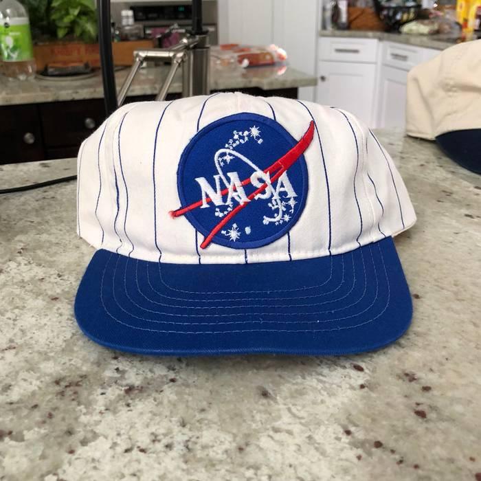dd92db1c60d Vintage Vintage NASA Patch Snapback Size one size - Hats for Sale ...
