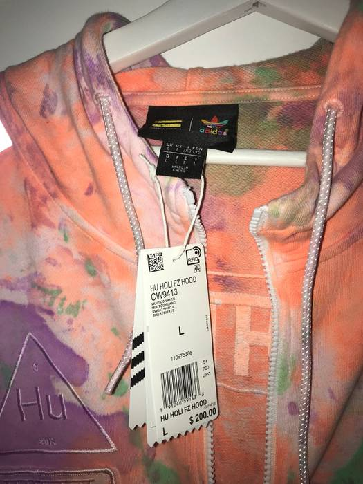 ea074b08b84ac Adidas adidas Originals x Pharrell Williams Hu FZ Hoodie  200 Size US L    EU 52