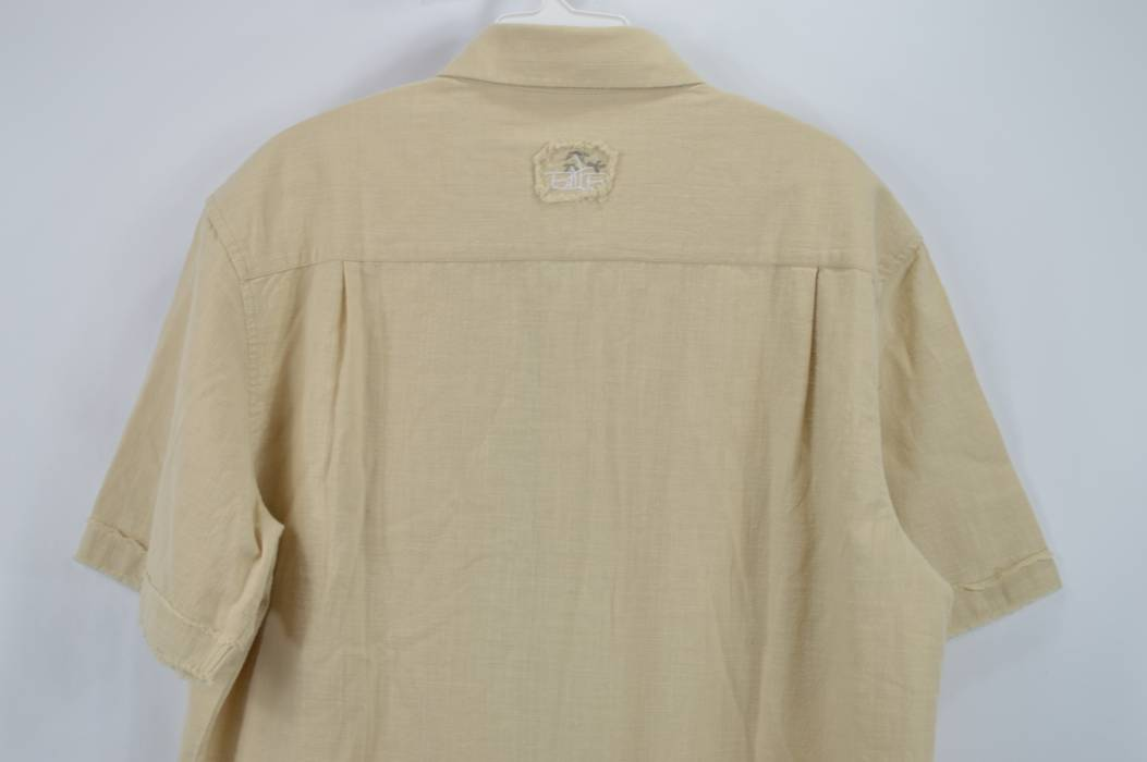 e37a2ccc0c7 Vintage BOHIO BREEZE New Mens Medium Short Sleeve Button Up Front Casual  Shirt Khaki Size US