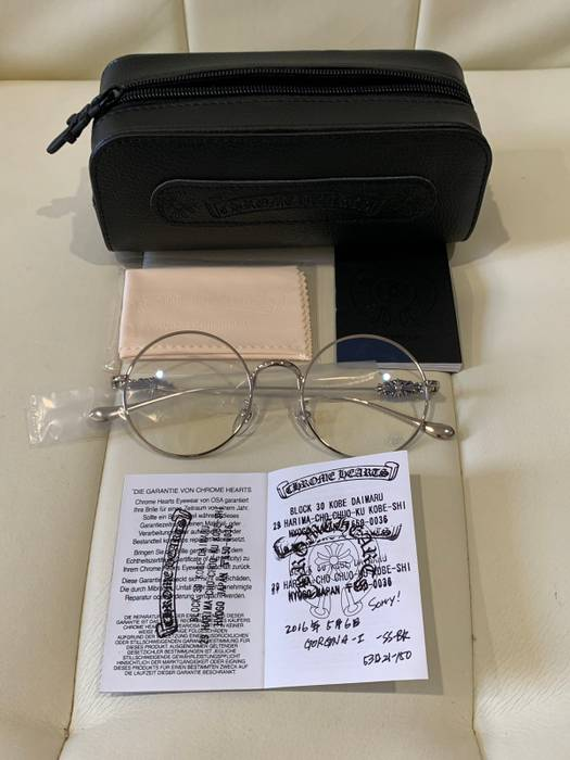 86847ac6cc2c Chrome Hearts OVARYEASY GLASSES NEW Size one size - Glasses for Sale ...