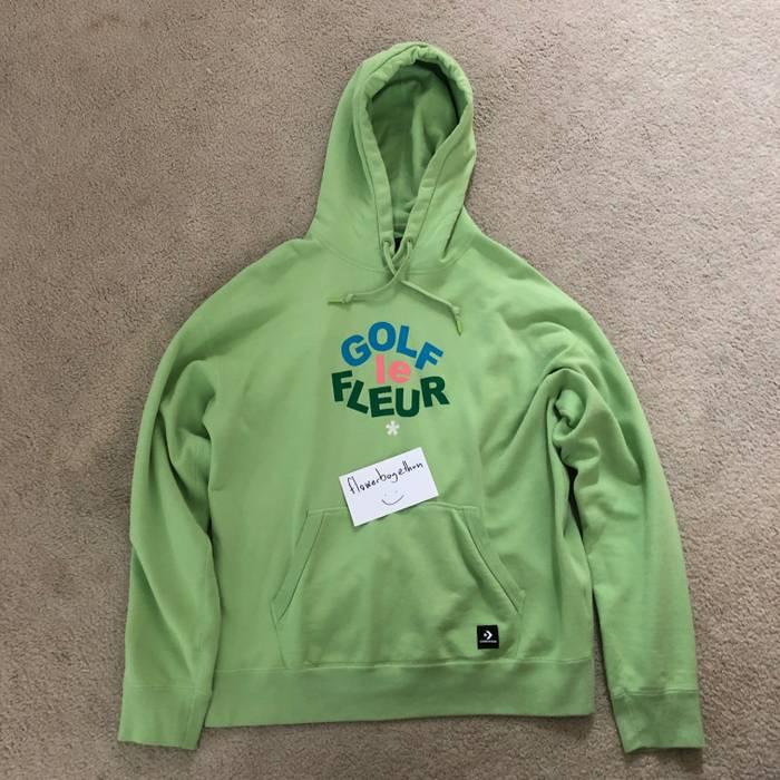 5d6e0793cc4e Converse Golf Le Fleur Green Hoodie Size l - Sweatshirts   Hoodies ...