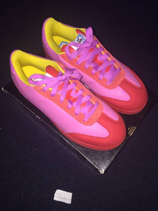 d6345e4b3374d5 Reebok Icecream BBC Reebok Board Flip 1 Pink Yellow Red Skate Shoes Size US  10.5