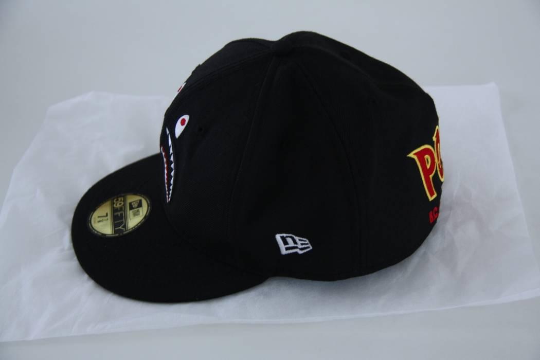 07b7691ba3a Bape Bape (A Bathing Ape) x New Era 59FIFTY Fitted Shark Hat Size ...