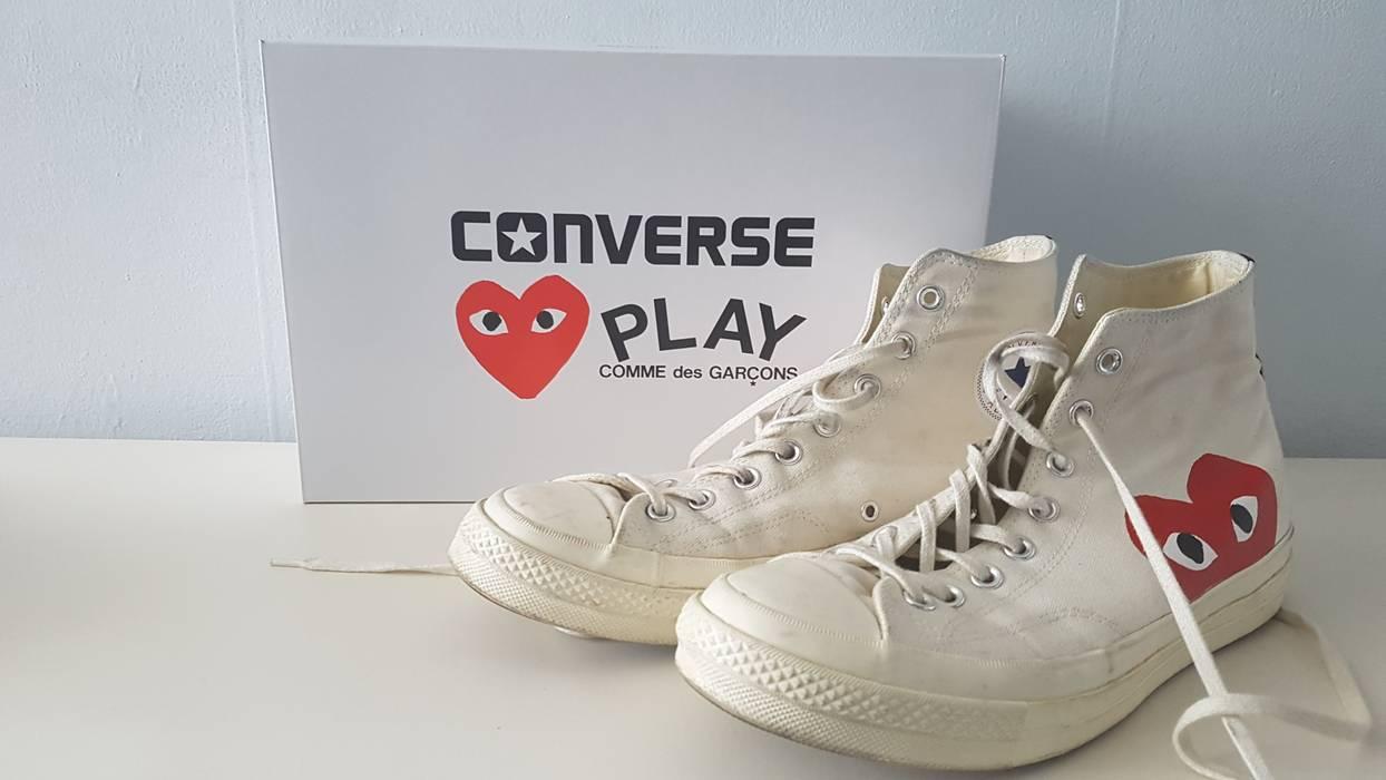 694da5e3e7a6 Converse Converse CDG Play High White Size 11 - Hi-Top Sneakers for ...