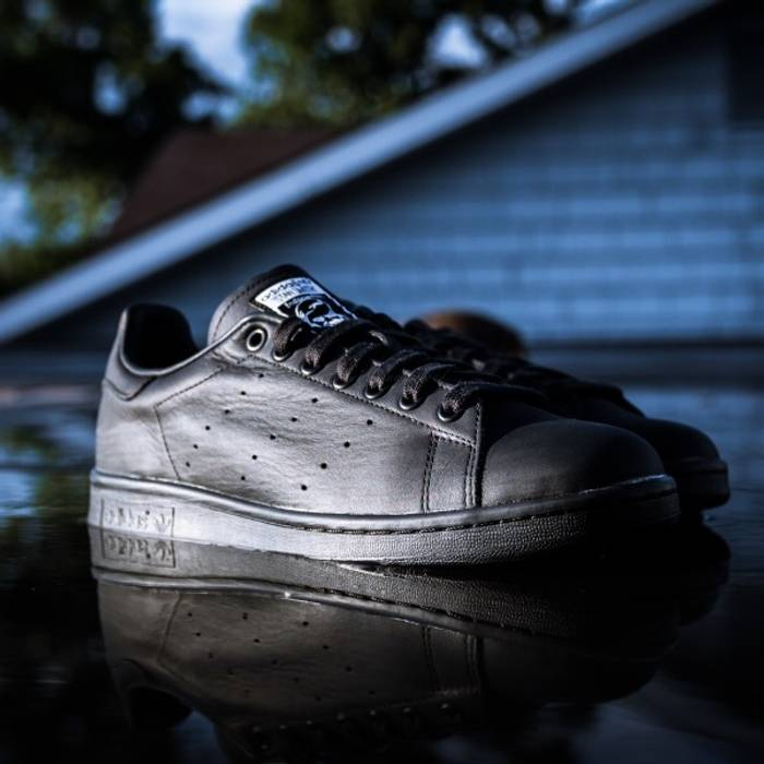 5b23e138b03 Adidas PW Stan Smith Solid BLACK Size 8.5 - Low-Top Sneakers for ...