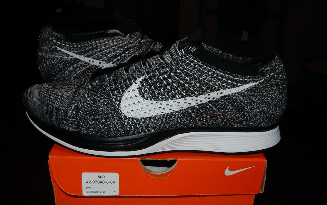 Nike. Nike Flyknit Racer Oreo 2.0 size 11 100% authentic 526628-012 1.0  multicolor e8ed3083e