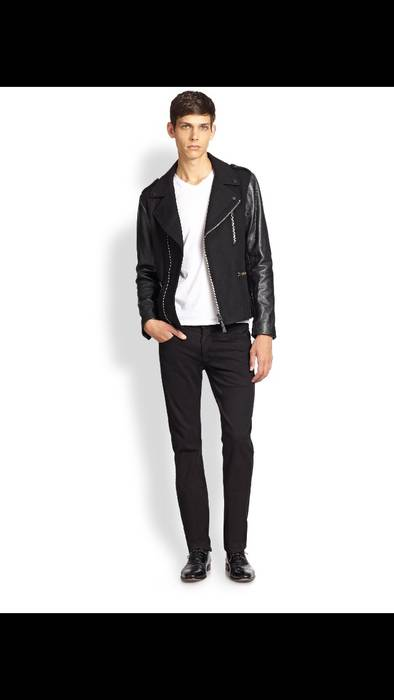 30a48198028 Mackage Wool And Leather Biker Jacket Size s - Leather Jackets for ...