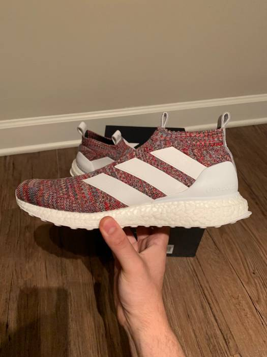 bda032878a644 Adidas Adidas x Kith COPA ACE 16+ Purecontrol Ultra Boost Golden Goal Size  US 8.5