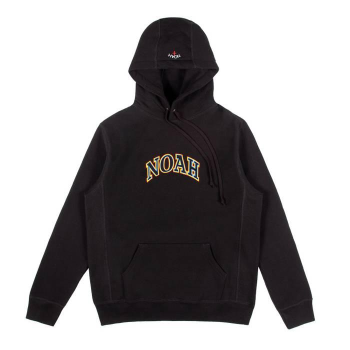 "76ecf22eb0b3 Noah Noah NYC  Tri Color Logo Hoodie ""Made in Canada. 100% cotton ..."
