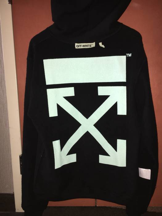 Search For Flights New Off White Hoodie Size M Herrenmode Kleidung & Accessoires