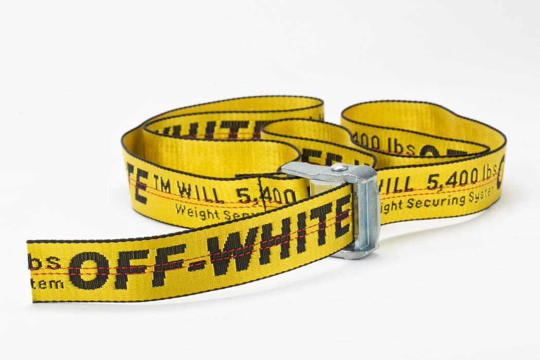 3e3d9a1ae407 Off-White Industrial Belt Size one size - Belts for Sale - Grailed