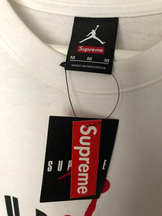 4834585f9f0 Supreme Supreme Jordan Tee Size m - Short Sleeve T-Shirts for Sale ...