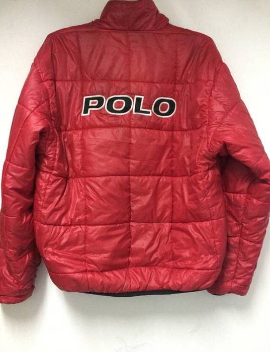 36f8bd263 Polo Ralph Lauren Very Rare Vintage 90s Polo Sport Spellout Puffer