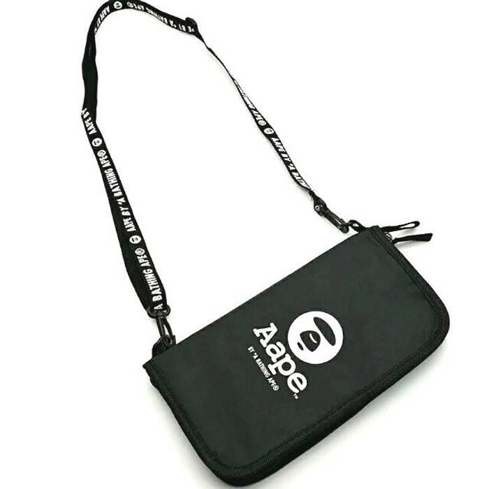 b57acc49028f Bape A Bathing Ape Bape X AAPE Nylon Shoulder Bag Size one size ...