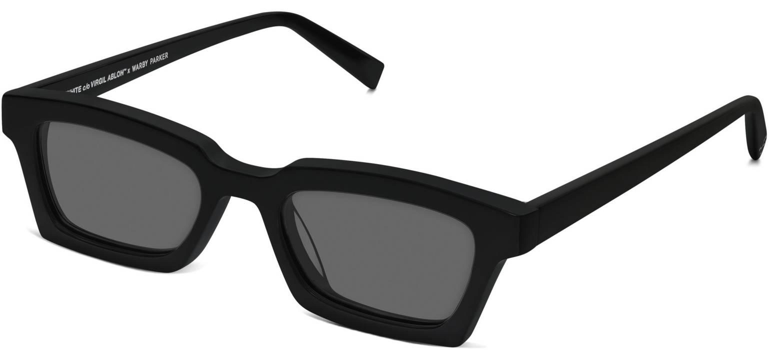 ec3da454c22a Off-White Off White c o Virgil Abloh x Warby Parker Black Small Sunglasses