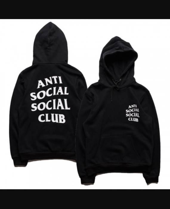 e73766c805a0 Antisocial Social Club ASSC Black Mind Games Hoodie XL Size US XL   EU 56