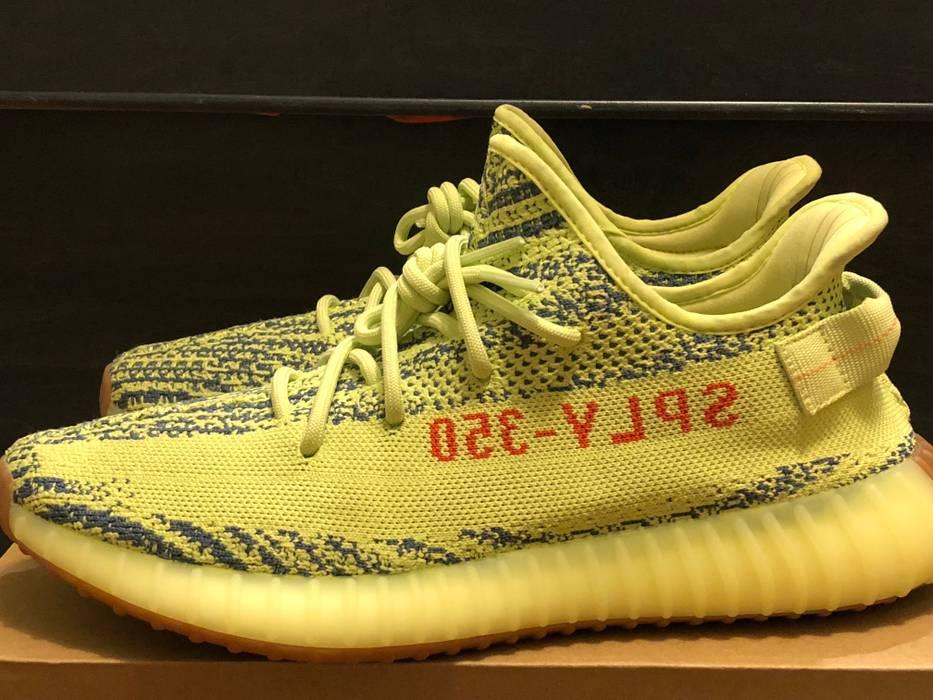 932f367c6e37b Adidas Kanye West adidas Yeezy Boost 350 v2 Semi Frozen Yellow Size 10.5  Size US 10.5