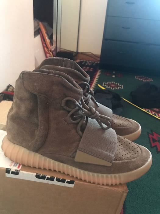 8336872db1540 Adidas Chocolate 750 Size 9.5 - Hi-Top Sneakers for Sale - Grailed