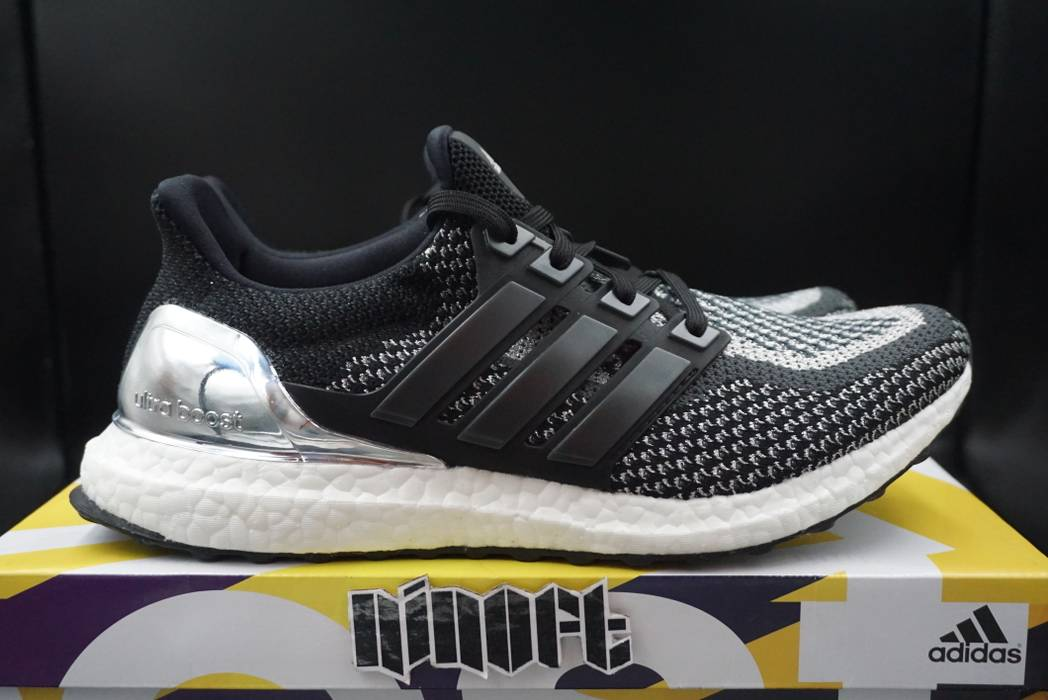 Adidas Adidas Ultra Boost 2.0 Silver Medal LTD Olympic Pack BB4077 Size US  5.5   EU 84164077a
