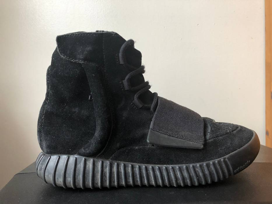 0bd7a2c51 Adidas Yeezy 750 Boost Triple Black Size 9 - Hi-Top Sneakers for ...