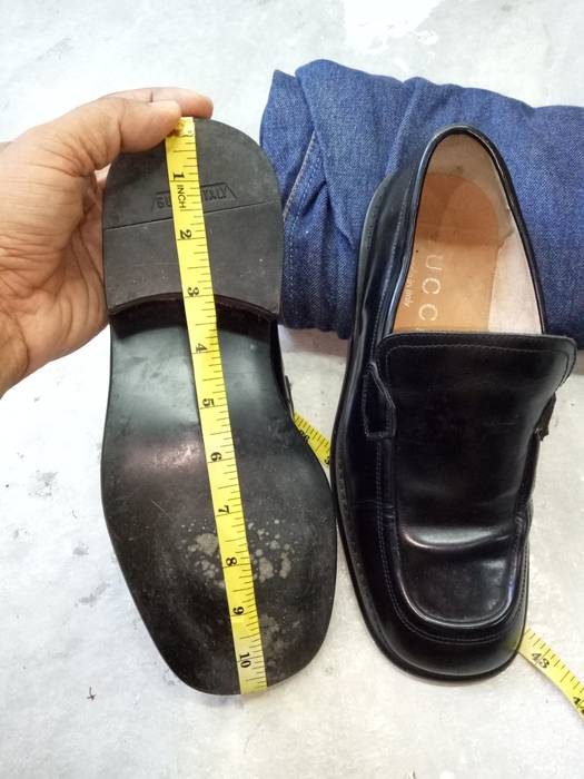 303832203b8 Gucci Gucci Leather Shoes Slip On Office Size 6.5 - Formal Shoes for ...